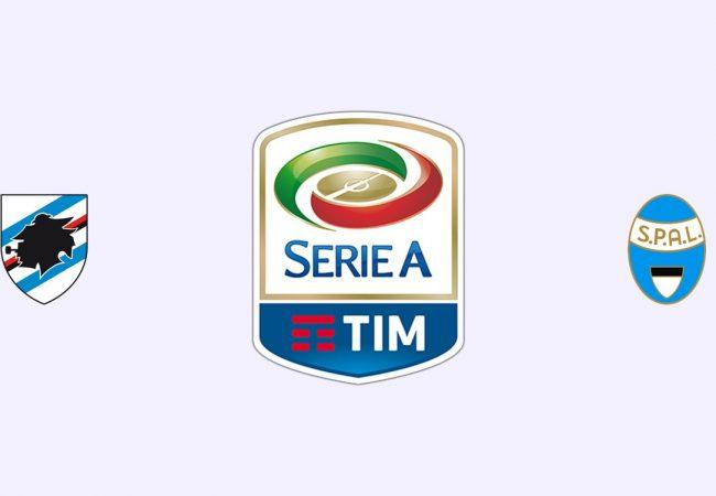 Sampdoria vs SPAL Free Betting Tips 01/10