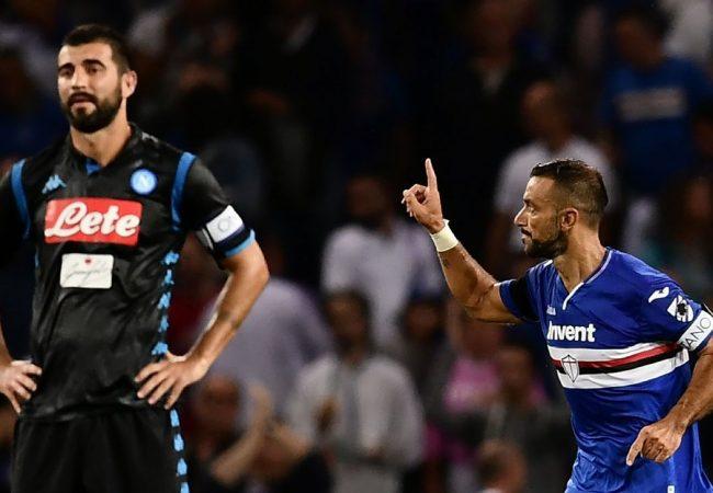Sampdoria vs Napoli Soccer Betting Tips